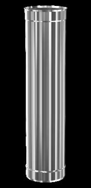 d.350 teava 1000 mm (inox 304)