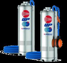 Скважинный глубинный насос Pedrollo UPm4/4 0.75 кВт до 52 м
