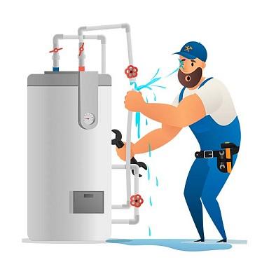 Demontarea boilerului electric