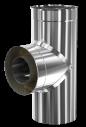 d. 220 - 300 Тройник дымоходный 90° (430 - 304)